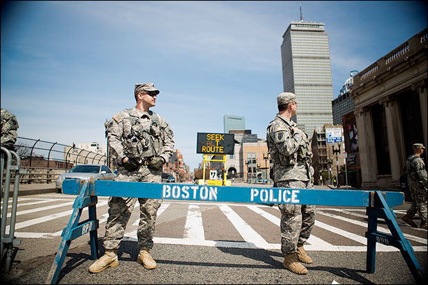 Video: SWAT police gunpoint raids in Boston Were Conducted House After House bostonmil7