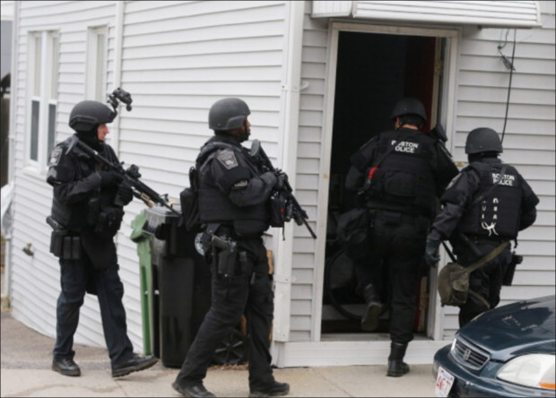 Boston Bombing: Marky Mark to Produce Film Celebrating Martial Law Takeover of Watertown bpd6