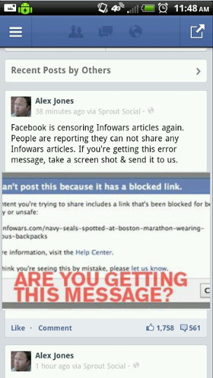 Facebook Blocks Infowars Post on Suspicious Men Wearing Backpacks facebookblock6