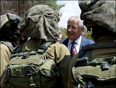 Chuck Hagel Green Lights Israeli Attacks On Syria and Iran hagelisrael