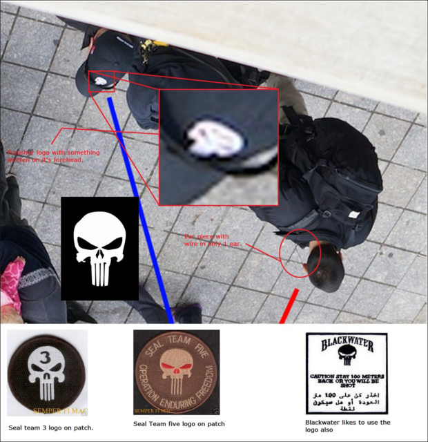 Navy SEALs Spotted at Boston Marathon Wearing Suspicious Backpacks? punisher