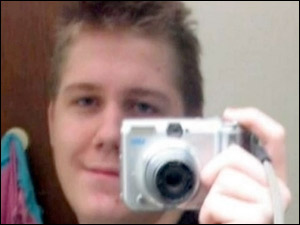 """=Undated photo of Justin Carter, who's facing a felony """"terroristic threat"""" charge in Texas. Courtesy Jack Carter."""