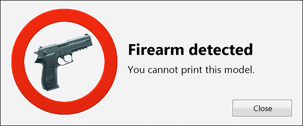 3D Printer Company Aims to Block Printing of Guns gunblockarticle