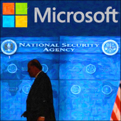 Microsoft Instrumental in NSAs Prism Program nsams