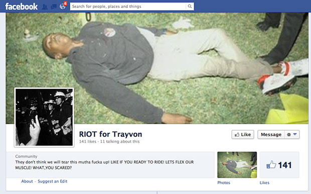 riotfortrayvon