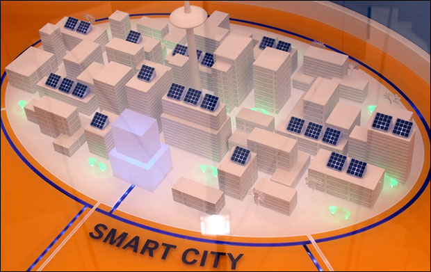 """Smart cities are designed by corporations like IMB and Cisco and will utilize the """"Internet of Things."""" Photo: Free IMages Collection"""