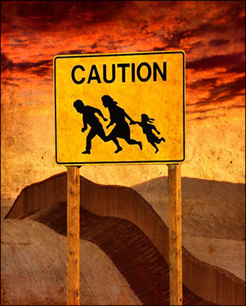 bordercaution
