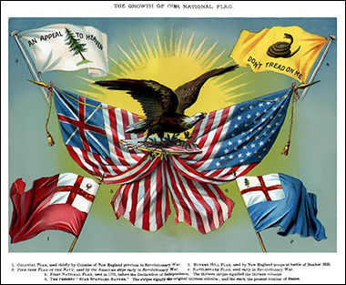 """Illustration from 1885 High School text book, titled """"History of the US"""", from Wikimedia Commons"""