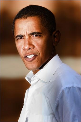 The corrupt President Barack Obama. Credit: Ari Levinson via Wikipedia