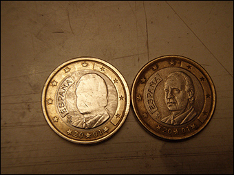 Spanish coins Credit: Daquella manera via Flickr