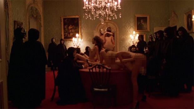 """Scene from Kubrick's 2009 """"Eyes Wide Shut'"""