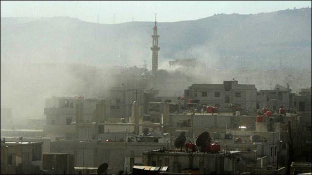 View of Damascus. (AFP Photo / Ammar al-Arbini)