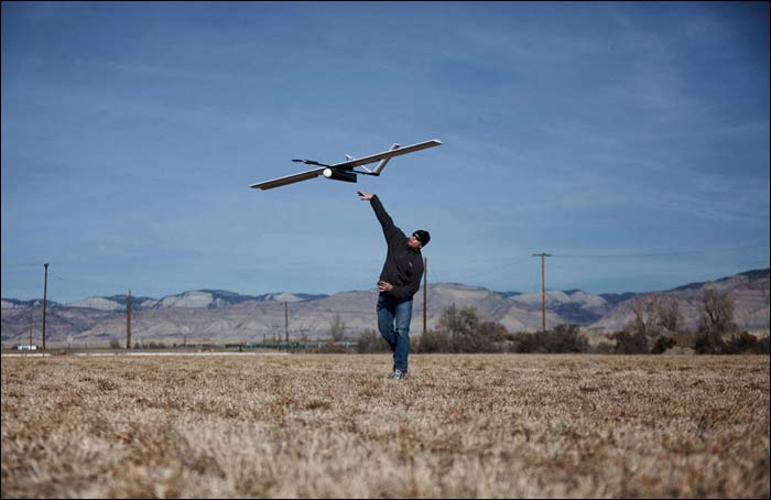 FEMA ordered the drones grounded or it would have people from Falcon UAV arrested. / via Falcon-uav.com