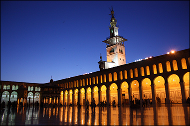 Umayyad Mosque in Damascus Credit: Arian Zwegers via Flickr