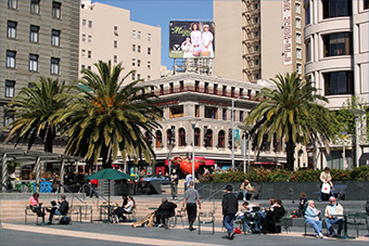 Police Shut Down San Francisco Union Square After Suspicious Device Found 101713thesquare