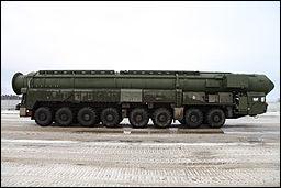A Topol-M intercontinental ballistic missile system.  Credit: Vitaly V. Kuzmin via Flickr