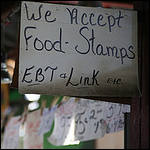Food stamps accepted everywhere. Credit: pasa47 via Flickr