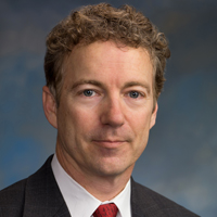 Sen. Rand Paul (R-Ky.), the son of Ron Paul.