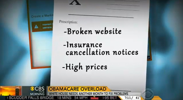 "Americans are losing their insurance plans and being ""offered"" more expensive plans in return."