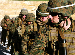 Drills for the Combat Marksmanship Program at Camp Pendleton, Calif.