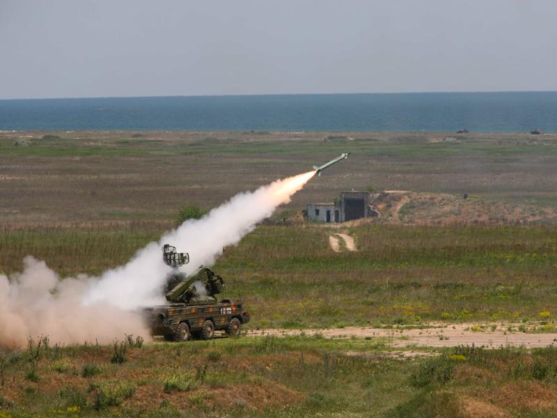 Russian SA-8 antiaircraft missile. Photo: Wikimedia Commons