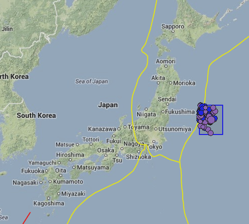 Earthquake Hits Near Fukushima Nuclear Plant; Tsunami Expected to Hit Reactor Screen Shot 2013 10 25 at 1.01.08 PM