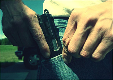 Cleveland stadium moves to disarm supposed good guys.