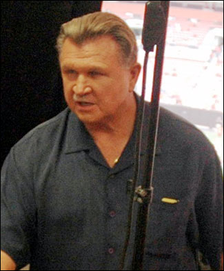 """Mike Ditka said that if had won the Illinois Senate seat, Obama """"wouldn't be in the White House."""" Photo: Wikimedia Commons"""