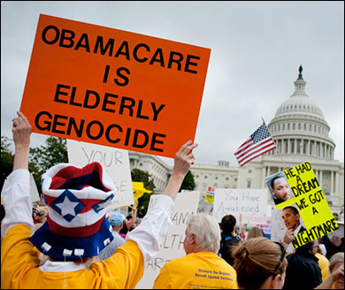 Liberal Blogger In Shock Over Obamacare Premium Increase elderly