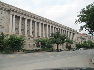 IRS Building in Washington D.C.