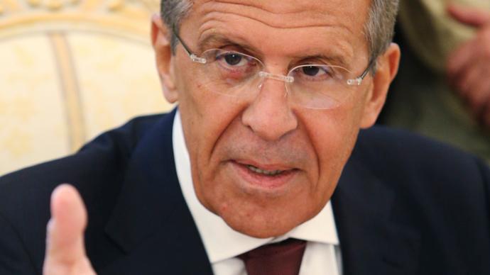 Russian Foreign Minister Sergey Lavrov (Reuters / Sergey Karpukhin)