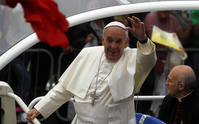 Jesuit Trained Pope Trashes Capitalism in Call for Worldwide Socialism popefrancis