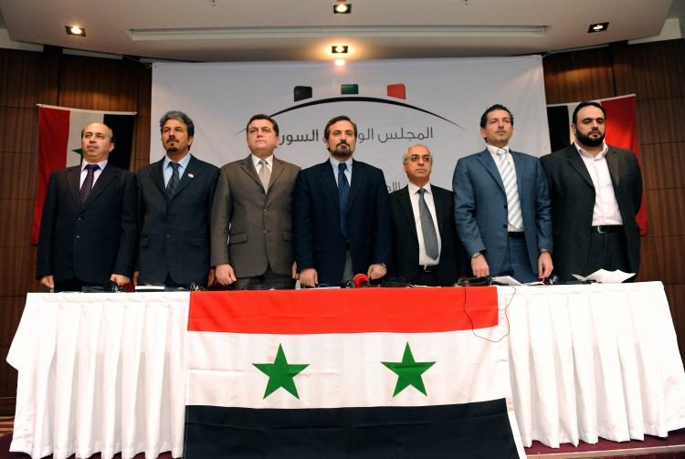 The Syrian National Council. Photo: Tunisia Live