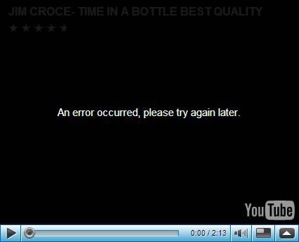 youtubeerror
