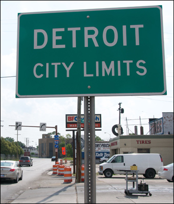 The economic implosion within the city limits. Credit:  Sam Beebe, Ecotrust via Flickr