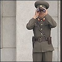 The North Korean Army will keep a close eye on you.