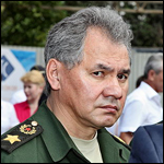 Russian defense minister Sergey Shoygu, who revealed the drone.  Credit: Vitaly V. Kuzmin via Wikipedia