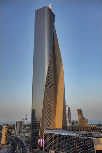 The Al Hamra Tower in Kuwait City. Credit: robef via Flickr