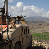 The Khowst Province of Afghanistan near Pakistan. Credit: U.S. Army