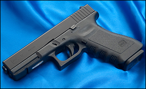 Standard magazines for a Glock 17, which hold 17 rounds, would be affected by this law. Credit: Ken Lunde via Wikimedia