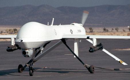 MQ-1L Predator UAV armed with AGM-114 Hellfire missiles