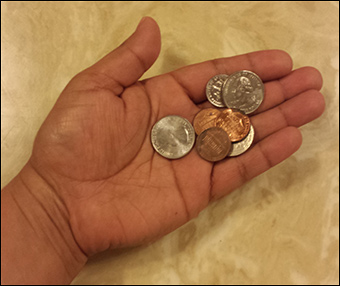 TSA collected $531,395 in loose change FY 2012.