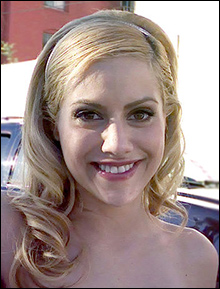 Actress Brittany Murphy / image by Luisa Pisani