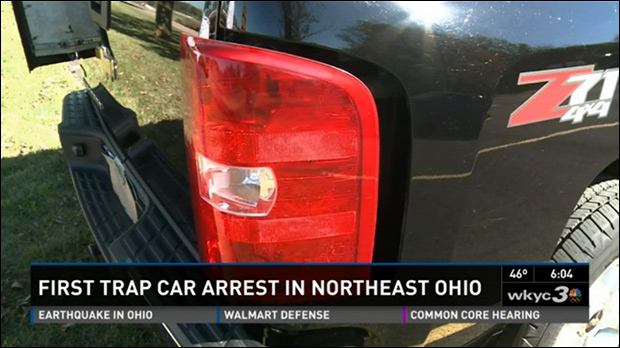 Man Arrested in Ohio for Driving Car With Empty Hidden Compartment sctruck