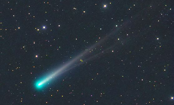 Comet ISON photographed on Nov. 10th by amateur astronomer Michael Jäger of Jauerling Austria.
