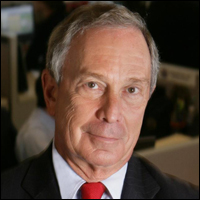 Michael Bloomberg has been mayor of New York City since 2001. Credit: Rubenstein via Wikimedia