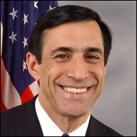 Rep. Darrell Issa (R-CA) became chairman of the Committee on Oversight and Government Reform in 2010.