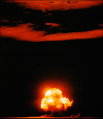 Both the U.S. and China have a stockpile of nuclear weapons.