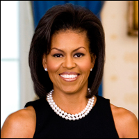Michelle Obama wants you to ring in the new year by paying five times more for health insurance.