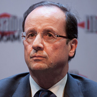 French president François Hollande is a socialist. Credit: Matthieu Riegler via Wikipedia